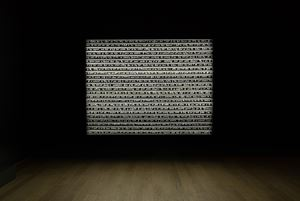 Sight Enables Us to Appreciate Distance by Rosa Barba contemporary artwork
