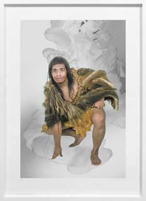 Nootka Warrior (In Pursuit of Venus) by Lisa Reihana contemporary artwork