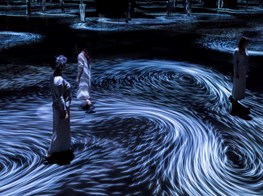 The NGV Triennial's Most Fun Work is a Digital, Phosphorescent Whirlpool