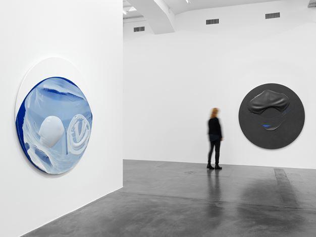 Exhibition view:Takesada Matsutani,Yohaku, Hauser & Wirth, Zurich (11 October–21 December 2019).© Takesada Matsutani. Courtesy the artist and Hauser & Wirth.