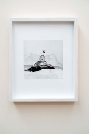 Baby in the Bed by Luke Fowler contemporary artwork