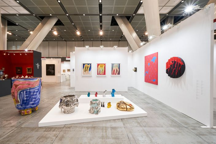 KOSAKU KANECHIKA, Art Fair Tokyo 2021 (19–21 March 2021). CourtesyKOSAKU KANECHIKA, Tokyo.