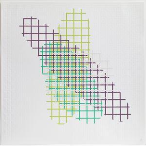 Cinema H by Richard Deacon contemporary artwork print