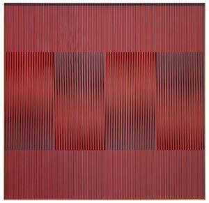 physichromie 1096 by Carlos Cruz-Diez contemporary artwork