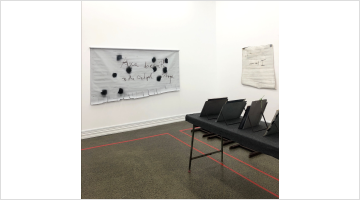 Contemporary art exhibition, The Estate of L. Budd et al., the artists in conversation at Starkwhite, Auckland