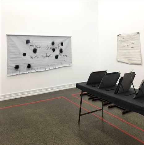 Exhibition view: The Estate of L Budd, the artists in conversation, Starkwhite (22 October—16 November 2019).