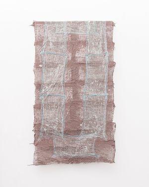 Residual Trace 202 / Brown, Blue by Pyda Nyariri contemporary artwork sculpture