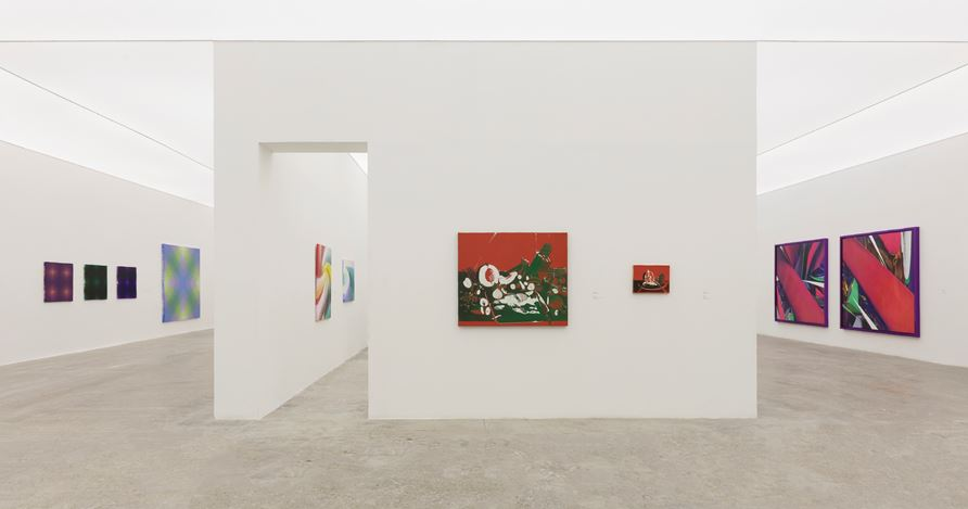 Exhibition view: Group exhibition,Painting and Existence: Chinese, Japanese, and Korean Abstract Painting, Tang Contemporary Art, Beijing (31 October–12 December 2020). Courtesy Tang Contemporary Art.