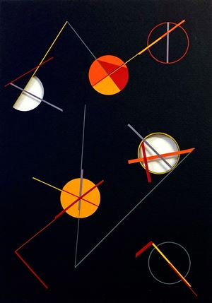 Variaçoès ritmicas by Macaparana contemporary artwork