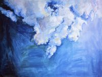 The Blue Sky and White Clouds 3 by Liu Weijian contemporary artwork painting