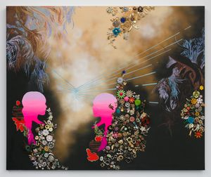 A Time Machine for Renewed Love by Suchitra Mattai contemporary artwork