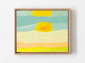Horizon 2 by Etel Adnan contemporary artwork