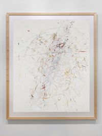 Windgesicht by Rebecca Horn contemporary artwork works on paper
