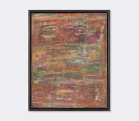 Abstract compositions V by David Koloane contemporary artwork painting, mixed media