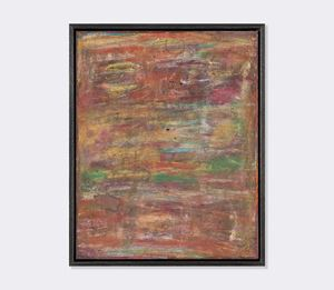 Abstract compositions V by David Koloane contemporary artwork