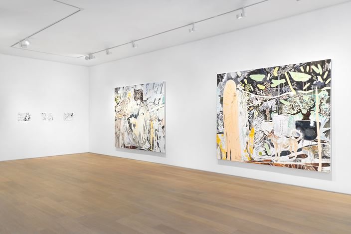 Exhibition view: Chris Huen Sin Kan, PUZZLED DAYDREAMS, Simon Lee Gallery, London (15 June–3 July 2020). Courtesy Simon Lee Gallery.