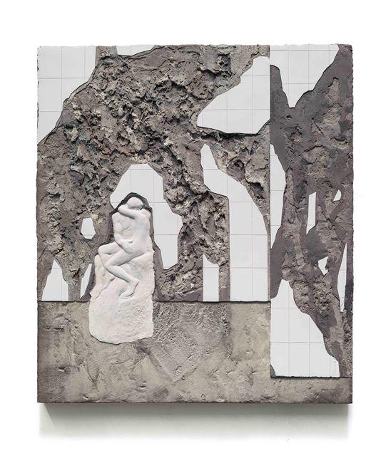 Kiss-4 吻-4 by Huang Yishan contemporary artwork