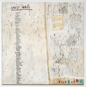 Tools for Poetry by Squeak Carnwath contemporary artwork
