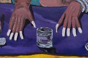 Fierce Drag Jewels (Portrait of Jacob Pollin) by Marcel Alcalá contemporary artwork 3