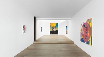 Contemporary art exhibition, Alessandro Pessoli, Like A Free Life at Xavier Hufkens, Brussels