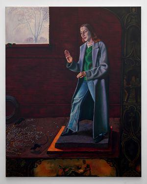 The pedestal by Bendt Eyckermans contemporary artwork