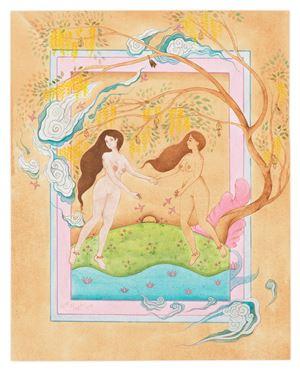 Dancing by Hiba Schahbaz contemporary artwork
