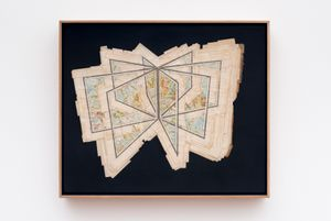 Intersection Cartography by Gerhard Marx contemporary artwork