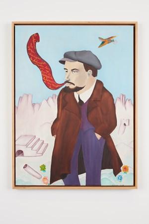 Lenin by Cecilia Vicuña contemporary artwork