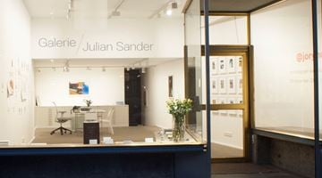 Galerie Julian Sander contemporary art gallery in Cologne, Germany