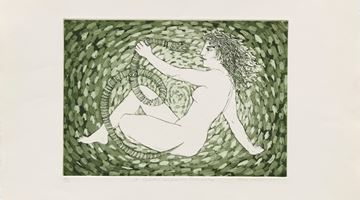 Contemporary art exhibition, Alexis Hunter, Money Art Sex – Part 1: A Goddess confronting Patriarchy at Richard Saltoun Gallery, Online Only, London