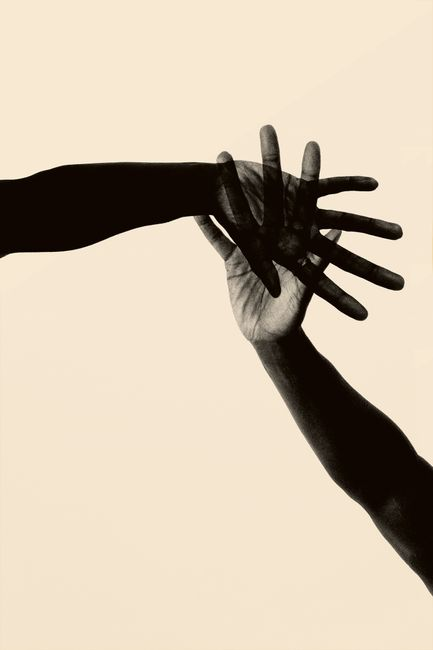Hand Together by Paul Cupido contemporary artwork