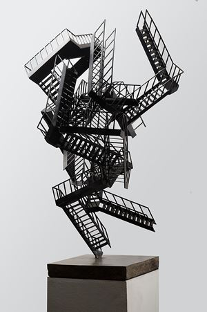 Escalation Incident with Collapse by Jake Michael Singer contemporary artwork