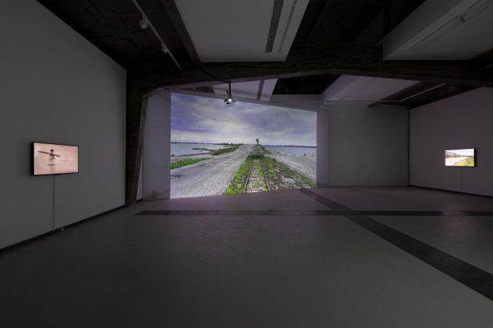 Contemporary art exhibition, Cheng Xinhao, Floating Wood and Drowning Stone at Tabula Rasa Gallery, Beijing, China