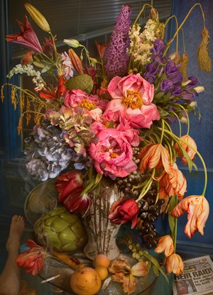 Wilting Gossip (from the series Earth Laughs with Flowers) by David LaChapelle contemporary artwork