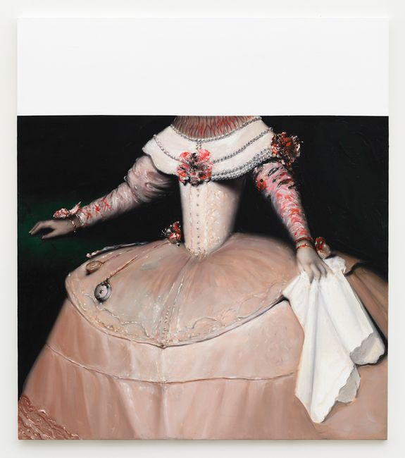 America (series after Velázquez) by Mircea Suciu contemporary artwork
