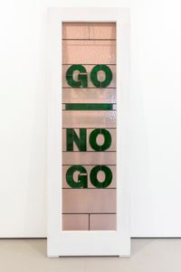 Go No Go by Mary-Louise Browne contemporary artwork sculpture