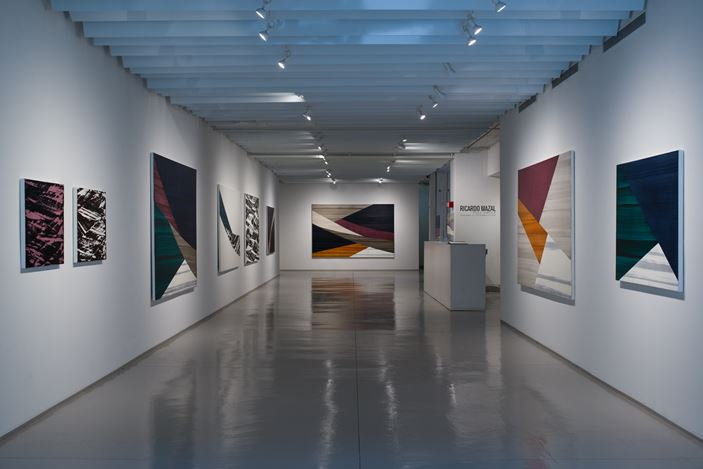 Exhibition view: Ricardo Mazal, Full Circle, Sundaram Tagore Gallery, Chelsea, New York (12 November–19 December 2020). Courtesy Sundaram Tagore Gallery.