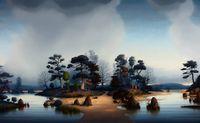 The Nine Gates by Alexander McKenzie contemporary artwork painting