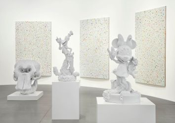 Contemporary art exhibition, Damien Hirst, Forgiving and Forgetting at Gagosian, Rome, Italy
