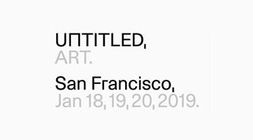 Contemporary art art fair, Untitled. SF 2019 at David Zwirner, 19th Street, New York, USA