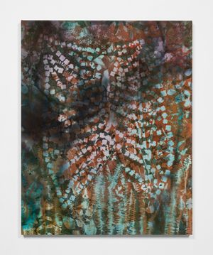 Hydrangea Cage by Sam Falls contemporary artwork