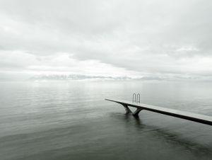 Genfersee, Switzerland by Sandro Diener contemporary artwork