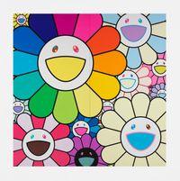 """Kabuki Flowers"" by Takashi Murakami contemporary artwork painting"