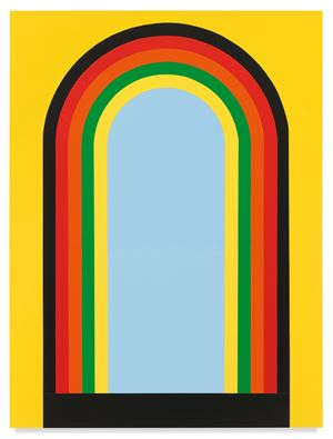 Untitled (Freedom Rainbow) by Rico Gatson contemporary artwork