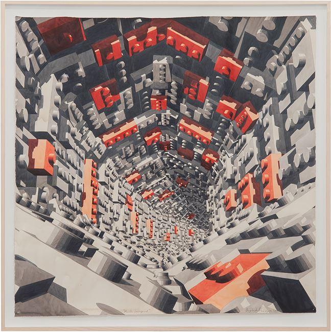 Pasillo Hexagonal by Dagoberto Rodríguez contemporary artwork