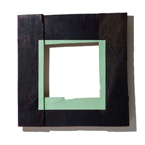Olive Green Square by Young-Rim Lee contemporary artwork