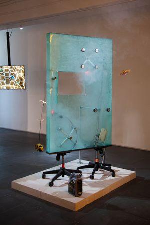 Dragon Cloud Gate by Andrew Luk & Samuel Adam Swope contemporary artwork