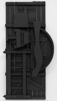 Untitled by Louise Nevelson contemporary artwork sculpture