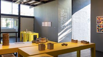 Contemporary art exhibition, Víctor del Castillo, La amplitud del espectro de la luz at Terreno Baldio Arte, Mexico City