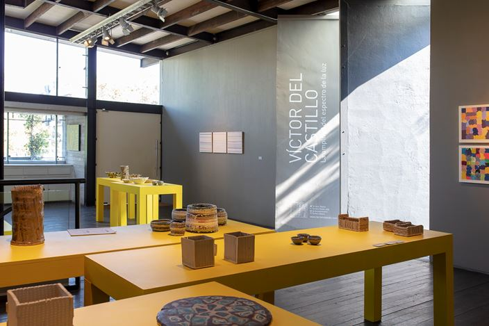 Exhibition view: Victor del Castillo,Víctor del Castillo,La amplitud del espectro de la luz, Terreno Baldio Arte, Mexico City (13 November 2020–27 February 2021). Courtesy Terreno Baldio Arte.